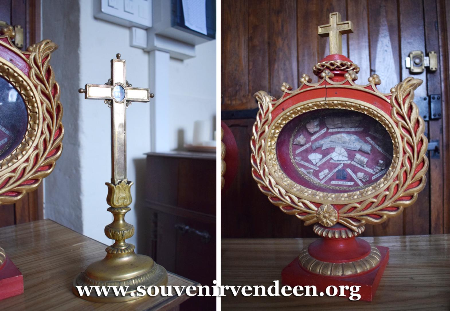 Un souvenir des Guerres de Vendée : les reliques du Mans (vidéo)