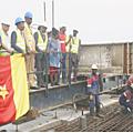 Deuxième pont sur le Wouri: le gros œuvre est achevé