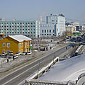 Le réchauffement climatique à l'œuvre - Iakoutsk (309.911 habitants) en danger - Warming: Yakutsk (309911 inhabitants) in danger