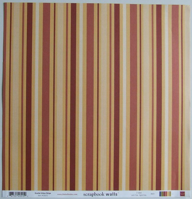 chatterbox recroom scarlet urban stripe