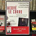 Mercredi 01/02 à partir de 19H, rencontre avec Hervé Le <b>Corre</b>