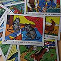 Images ... Anciennes images d'écolier LES <b>FABLES</b> * Collection OLIVIER *