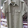 Le défi de la chemise d'homme