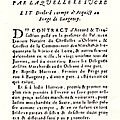 Actes Manuscrits 1605 ET 1865