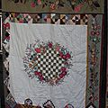 Patchwork mystère Broderie Perse