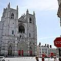 INFO OUEST-FRANCE. Incendie à la <b>cathédrale</b> de Nantes : le suspect faisait l'objet d'une obligation de quitter le territoire