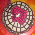 gâteau <b>spiderman</b>