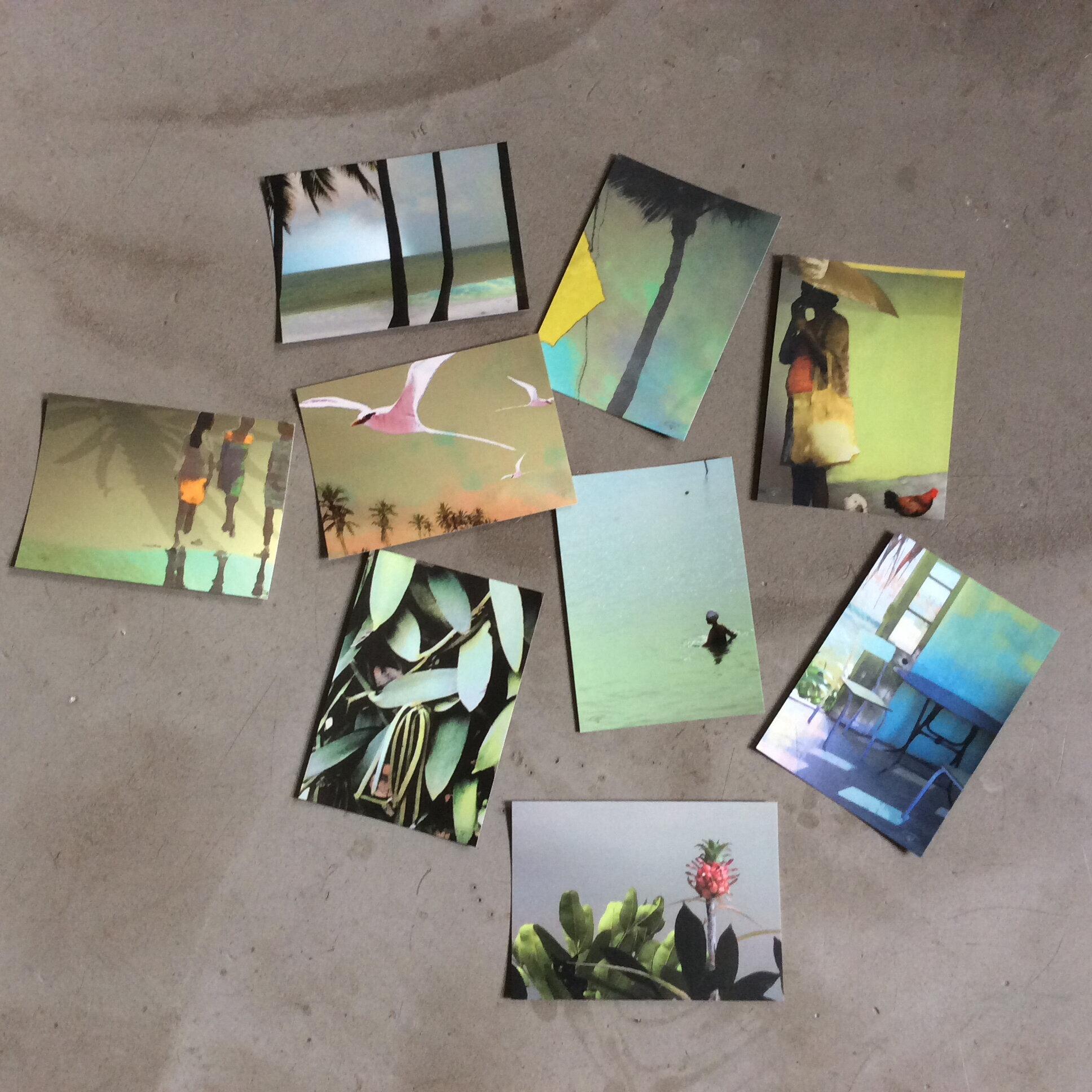 Ensemble cartes postales 2018