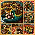Délicieux pour le gouter: cupcakes au napage nutella