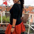 Ma mini jupe rouge
