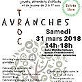 Avranches en troc, 1ère édition d'échanges et sensibilisation au développement durable - samedi 31 mars 2018