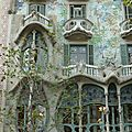 Barcelone : la <b>Casa</b> <b>Batllo</b>