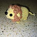 Tuto <b>crochet</b>/amigurumi - Lion <b>crocheté</b> en une pièce, sans coutures - <b>crochet</b> débutant - <b>facile</b> 🦁