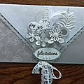 Carte enveloppe stampin'up