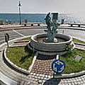 Rond-point à Marina di Gioiosa <b>Ionica</b> (Italie)