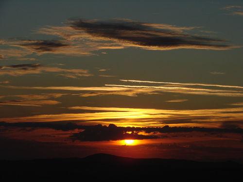 2008 08 11 Le levé du soleil depuis le sommet du Pic du Lizieux (20)