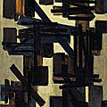 Christie's to offer an important rediscovery by <b>Soulages</b> from 1950