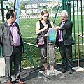 Henri <b>Vallier</b> a donné son nom au nouveau terrain de foot en pelouse synthétique