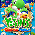 Test de <b>Yoshi</b>'s Crafted World - Jeu Video Giga France