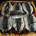 Tarte feuilletée aux sardines fraîches