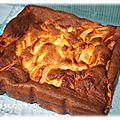 Gâteau aux pommes au lait concentré ( thermomix ou pas )