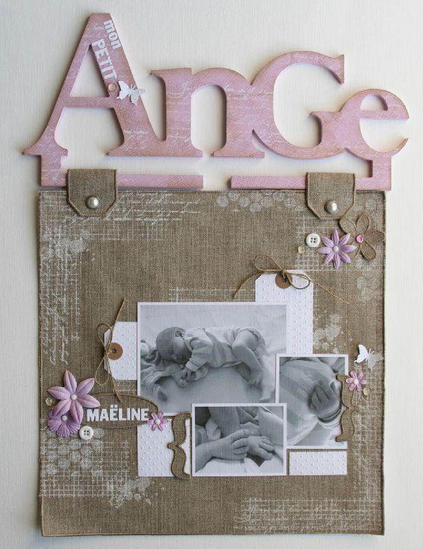 page sur cintre Ange
