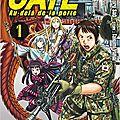 Gate, Au delà de la porte [T1 et T2] de Satoru Sao & Takumi Yanai