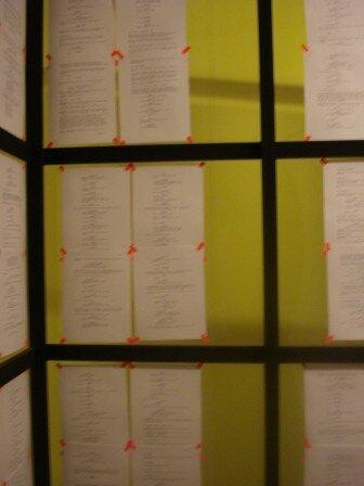 Milan avril 2007 Fondation Prada - Installations cinéma de Tobias Rehberger reconstitution du processus créatif d'un film (14)