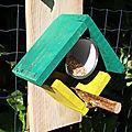 DIY récup mangeoire pour les oiseaux des jardins