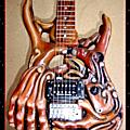 Handyman, guitare sculptée by hazoo!