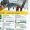 Ski, luge, raquette : la carte de neiges de la province de liège