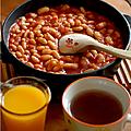 Baked beans de dernière minute pour brunch décidé sur le tard
