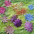 Des fleurs façon floripétale