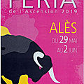 <b>FERIA</b> D'<b>ALÈS</b> -ASCENSION 2019