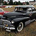 <b>Chevrolet</b> <b>Fleetline</b> 4door sedan-1948
