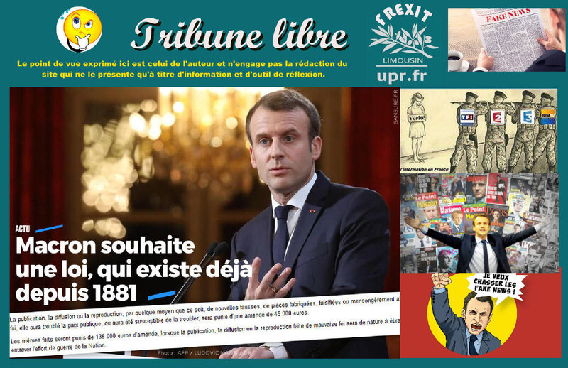 TL MACRON LOI FAKE NEWS
