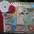 <b>Mini</b> <b>album</b> : patchwork de stampéria