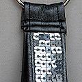 Porte clefs à paillettes