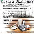Expo des ateliers ce week-end !!