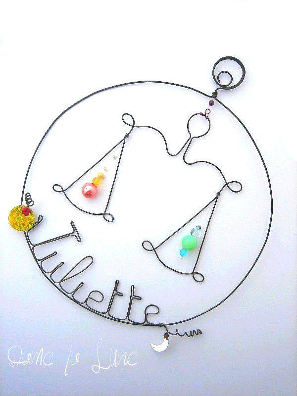 - MOBILE du signe du zodiaque Balance
