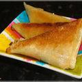Samosas de Fromage à la Grecque
