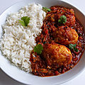 Curry d'oeuf (<b>egg</b> curry ou <b>egg</b> massala)