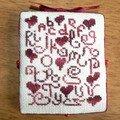 Cadeau offert à clob- grille abc coeur offerte par Atalie