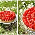 Tarte aux fraises version 2018