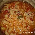 Soupe aux haricots blanc pour 4 pers 4 pp la part