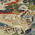 A global bidding festival: Sworders Asian art sale topped by £21,000 <b>Qing</b> silk scroll