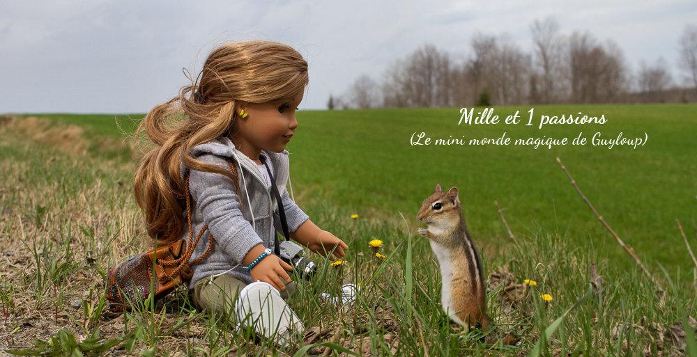 Lea, les fleurs de tussilage et l'écureuil - Lea, coltsfoot flowers and squirrel