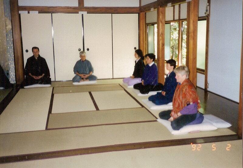 1992-05 sesshin zen au Japon