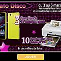 Plato <b>Disco</b> : le jeu en ligne en musique