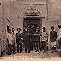 MARRAKECH EN 1910-1911 - SOUS LE REGARD D'UNE FEMME